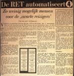 19660401 De RET aautomatiseert. (HVV)