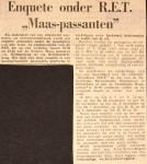 19661110 Enquete onder RET Maaspassanten (HVL)