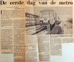 19670210 De eerste dag van de metro (Telegraaf)