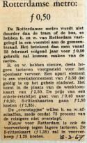 19670318 Rotterdamse metro 50 cent