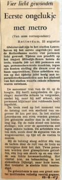 19670823 Eerste ongelukje met de metro