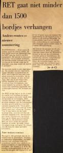 19670830 1500 bordjes verhangen.