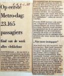 19680104 Op eerste metr-dag 23.165 passagiers (RN)