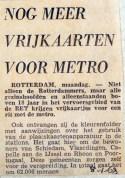 19680108 Nog meer vrijkaarten voor de metro