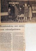 19680127 Kennismaking met metro voor rolstoelpatienten