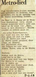 19680205 Metro-lied