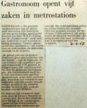 19680208 Gastronoom opent vijf zaken in metrostations