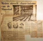 19680209 Mero steelt chauvinisme van de Maasstad