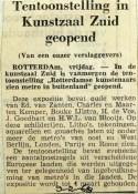 19680209 Tentoonstelling in Kunstzaal Zuid geopend
