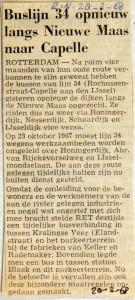 19680228 Buslijn 34 langs Nieuwe Maas naar Capelle (RN)