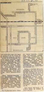 19680522 Twee autobuslijnen naar station Alexander (Parool)