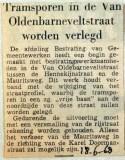 19680618 Tramsporen Van Oldenbarneveltstraat verlegd