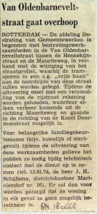 19680618 Van Oldenbarneveltstraat gaat op de schop (RN)
