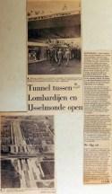 19680715 Tunnel tussen Lombardijen en IJsselmonde open