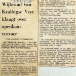 19680903 Wijkraad Kralingseveer klaagt over OV