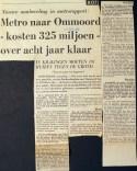 19680904 Metro kost 325 miljoen.
