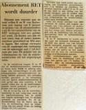 19681007 Abonnement RET wordt duurder