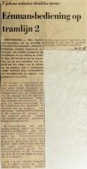 19681016 Eenmansbediening op tramlijn 2
