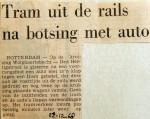 19681212 Tram uit de rails na botsing Wolphaertsbocht