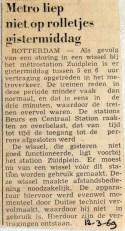19690312 Metro liep niet op rolletjes