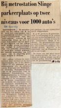 19690326 Parkeerplaats Slinge voor 1000 auto's (RN)