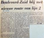 19690327 Boulevard-Zuid blij met nieuwe route