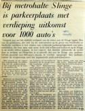 19690401 Parkeerplaats met verdieping bij Slinge