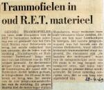 19690428 Trammofielen in oud RET materieel