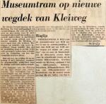 19690514 Museumtram op nieuwe wegdek Kleiweg