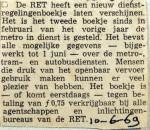 19690610 Nieuw dienstregelingenboekje