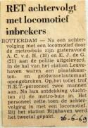 19690626 RET achtervolgt met locomotief inbrekers