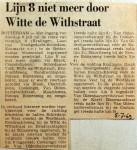 19690705 Lijn 8 niet meer door Witte de Withstraat
