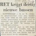 19690717 30 nieuwe bussen voor de RET