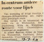 19690719 In centrum andere route lijn 6
