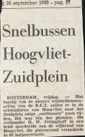 19690926 Snelbus Hoogvliet - Zuidplein.