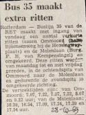 19691028 Extra ritten lijn 35.