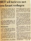19691202 RET wil tarieven met kwart verhogen