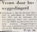 19700205 Door bus weggeslingerd.