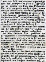 18840519 Opening tram naar Feijenoord. 1 (RN)