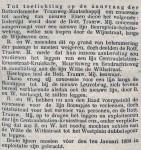 18861125 Consessie nieuwe lijnen. (NvdD)
