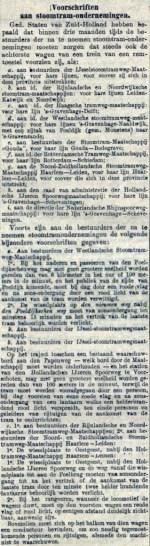 18890809 Voorschriften beremming. (AH)