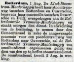 18900804 Concessie overgedragen. (De Tijd)