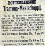 18930327 Uitloting leening. (RN)