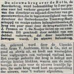 18960224 Nieuwe brug over Rotte. ((RN)