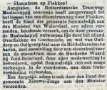 18960801 Stoomtram Flakkee. (RN)