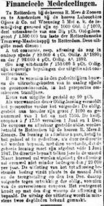 18970503 Obligatierekening. (De Standaard)