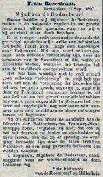 18970920 Tram Rosestraat. (RN)