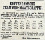 19011031 Uitloting coupons. (AH)