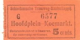 Voor de deeltrajecten zoals van het Hoofdplein naar de Koemarkt was een tarief van vijf cent van toepassing.