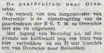 19130118 Paardentram Overschie. (RN)